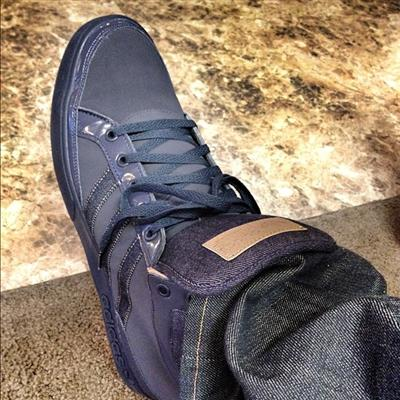 &quot;Kickin Denim #Adidas #3StripeLife #FckEmWeBll !!!&quot; - B.o.B